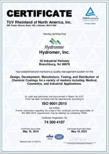 thumbnail of Hydromer-ISO-9001-Certification